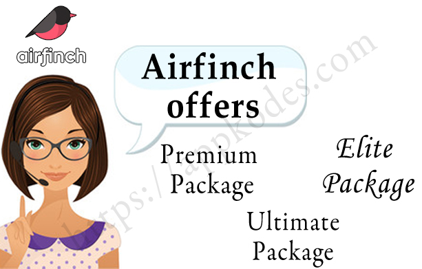 https://appkodes.com/product/airfinch-premium-package/ website snapshot