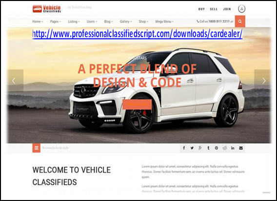 http://www.professionalclassifiedscript.com/downloads/cardealer/ website snapshot