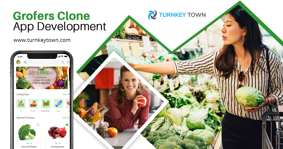 https://www.turnkeytown.com/grofers-clone website snapshot