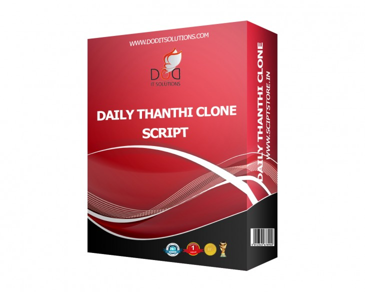 http://scriptstore.in/product/daily-thanthi-clone-scripts/ website snapshot