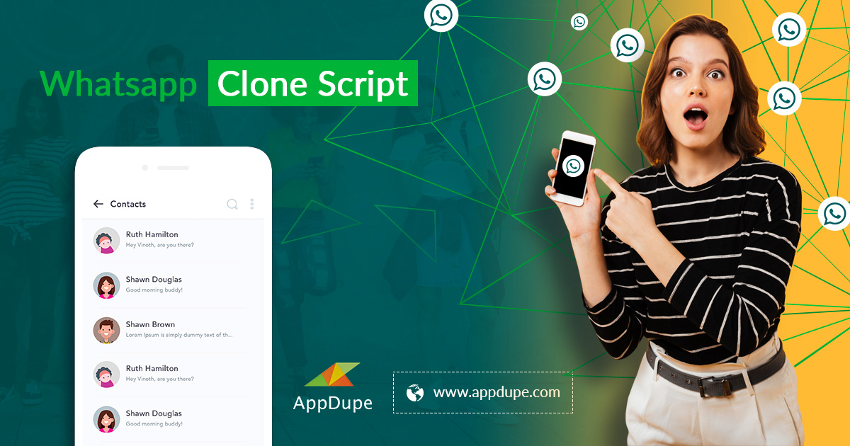 https://www.appdupe.com/whatsapp-clone-script website snapshot