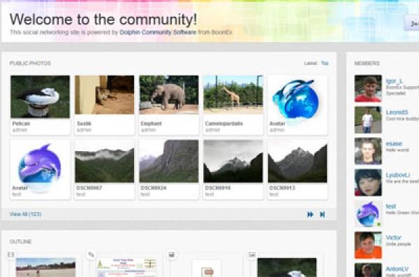 https://www.boonex.com/features website snapshot