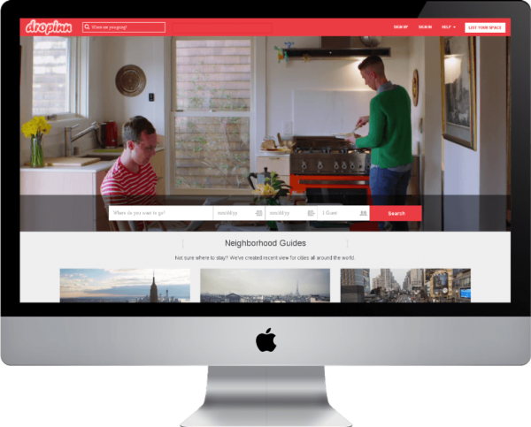 http://www.cogzidel.com/airbnb-clone/ website snapshot
