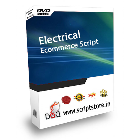 http://scriptstore.in/product/electrical-ecommerce-script/ website snapshot