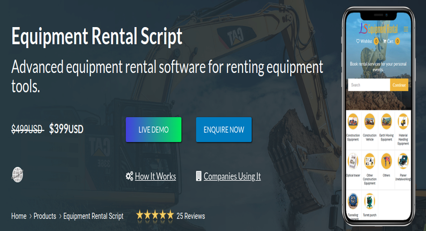 https://www.logicspice.com/equipment-rental-software website snapshot