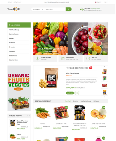 http://www.pinginfotech.com/advanced-grocery-store-script.php website snapshot