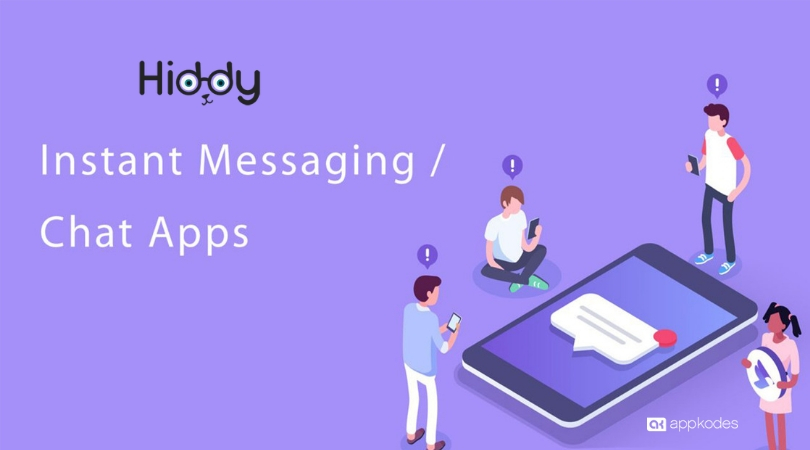 https://appkodes.com/chat-app-script/ website snapshot