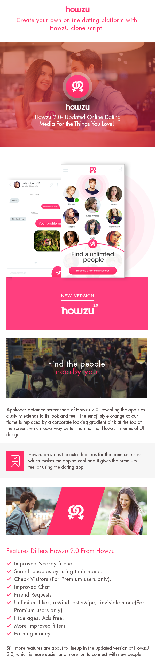 https://appkodes.com/howzu-dating-app-done-php-tinder-clone/ website snapshot