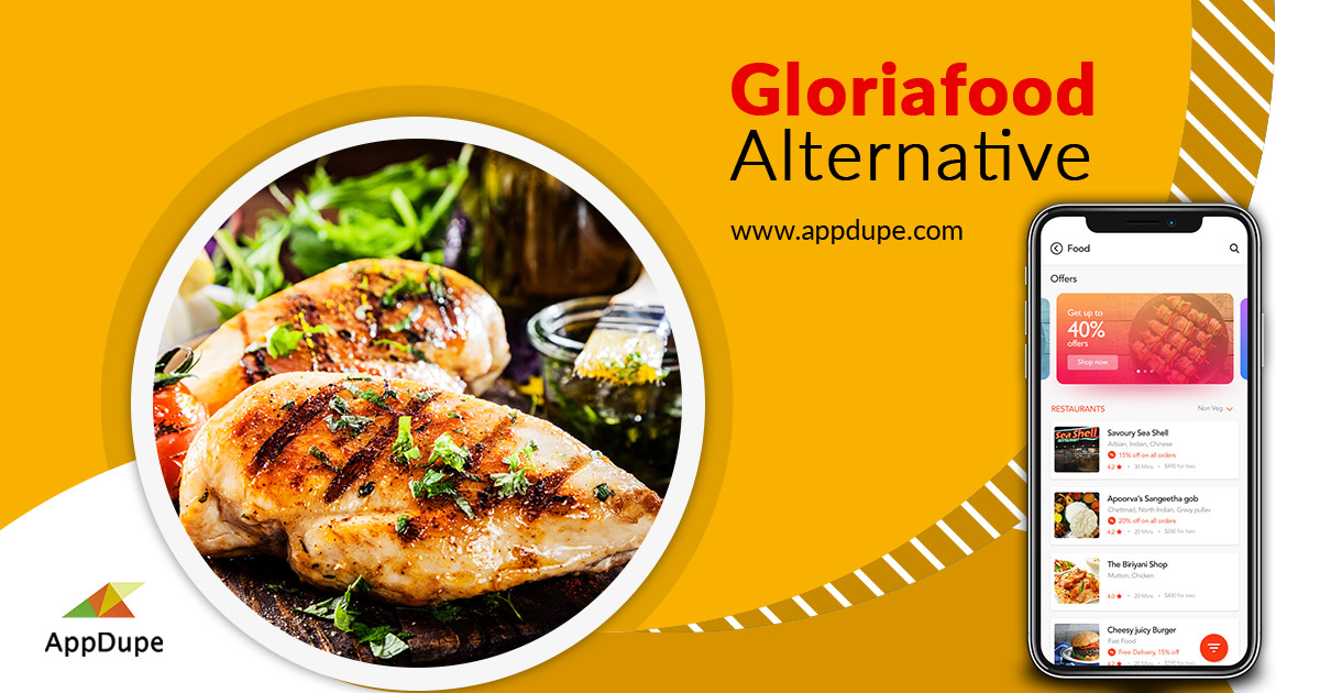 https://www.appdupe.com/gloriafood-alternative website snapshot