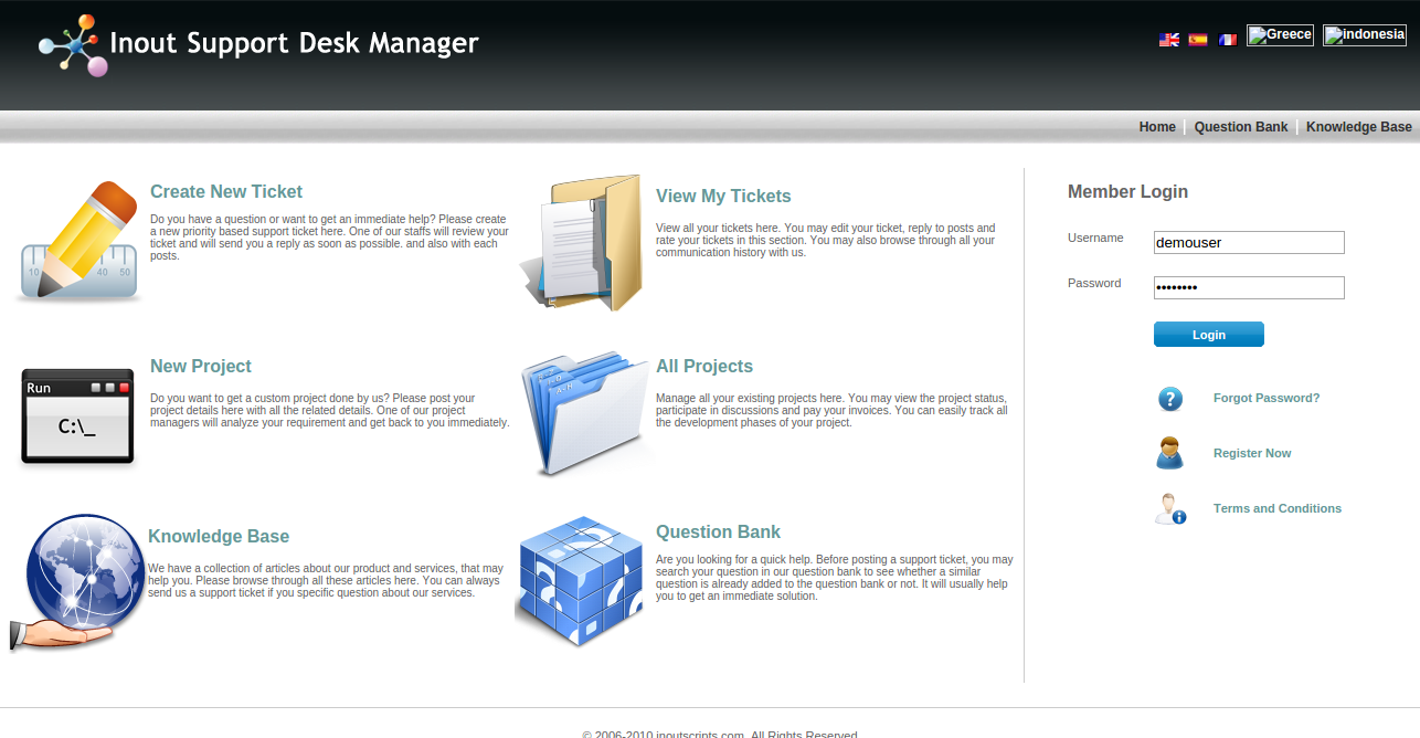 http://www.inoutscripts.com/products/inout-support-desk-manager/?index1 website snapshot