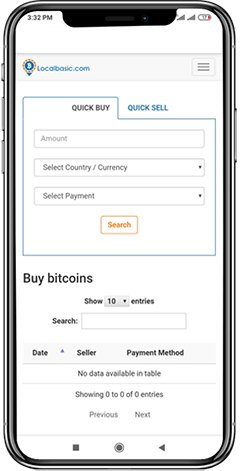 https://www.appdupe.com/local-bitcoin-clone website snapshot