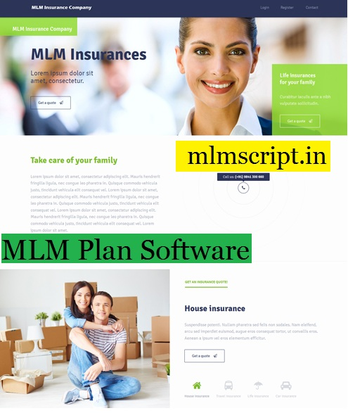 http://www.mlmscript.in/insurance-mlm.html website snapshot