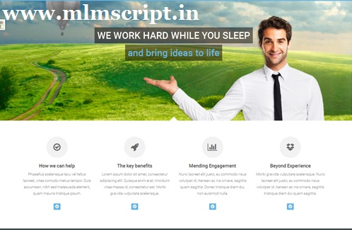 http://www.mlmscript.in/advanced-mlm-software.html website snapshot