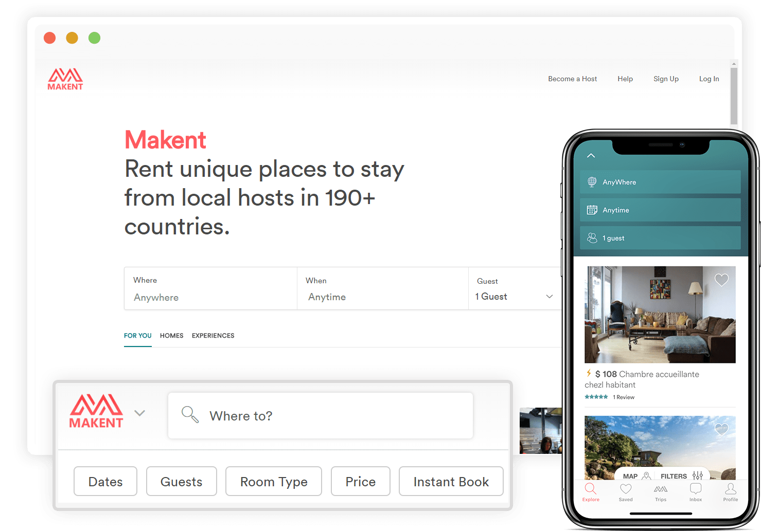 https://www.trioangle.com/airbnb-clone/ website snapshot