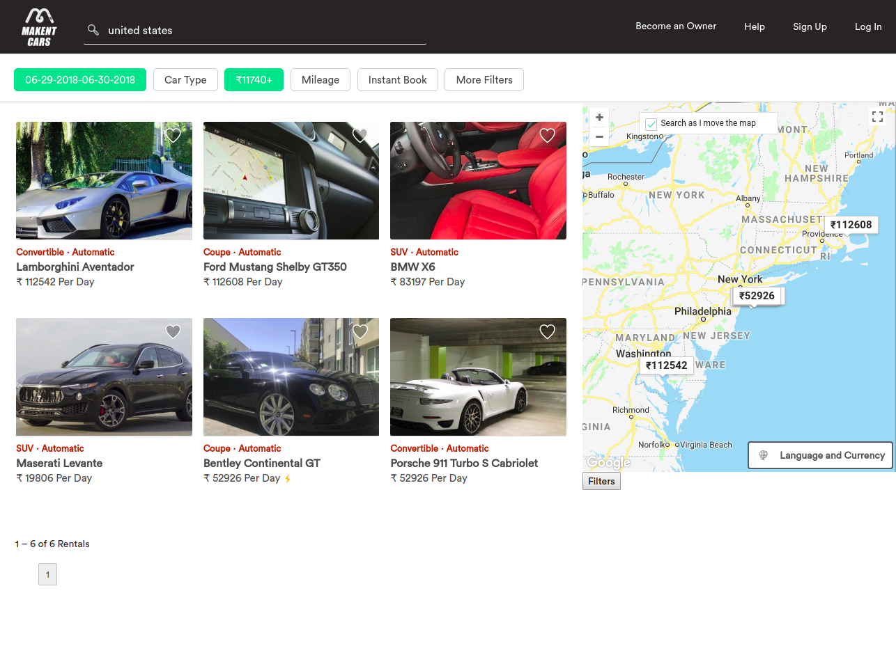 https://www.trioangle.com/airbnb-clone-for-car-rentals/ website snapshot