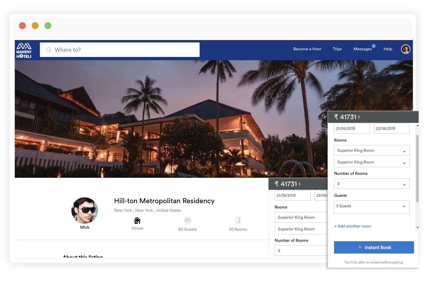 https://www.trioangle.com/hotel-booking-script/ website snapshot