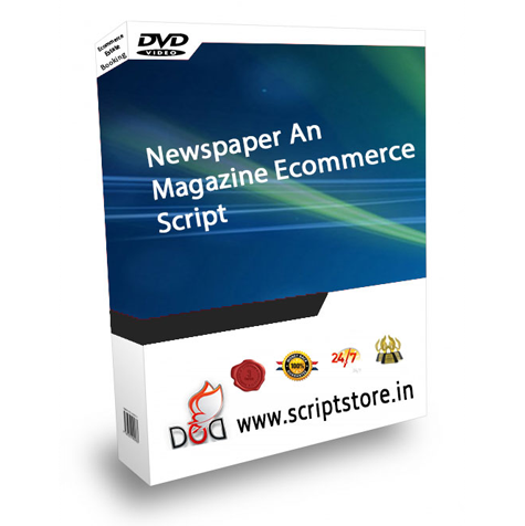http://scriptstore.in/product/newspaper-and-magazine-ecommerce-script/ website snapshot