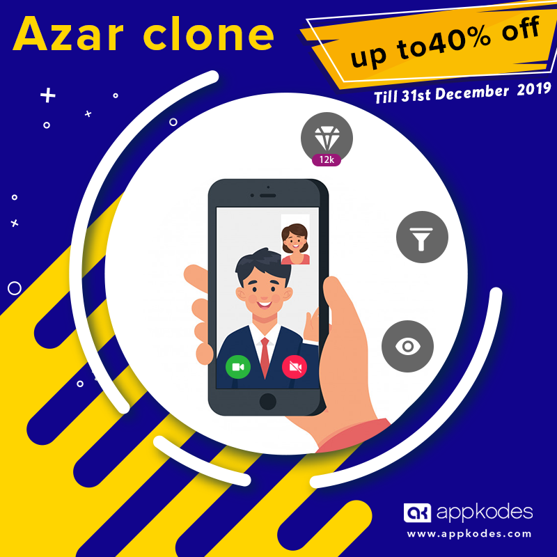 https://appkodes.com/azar-clone-video-chat-script/ website snapshot