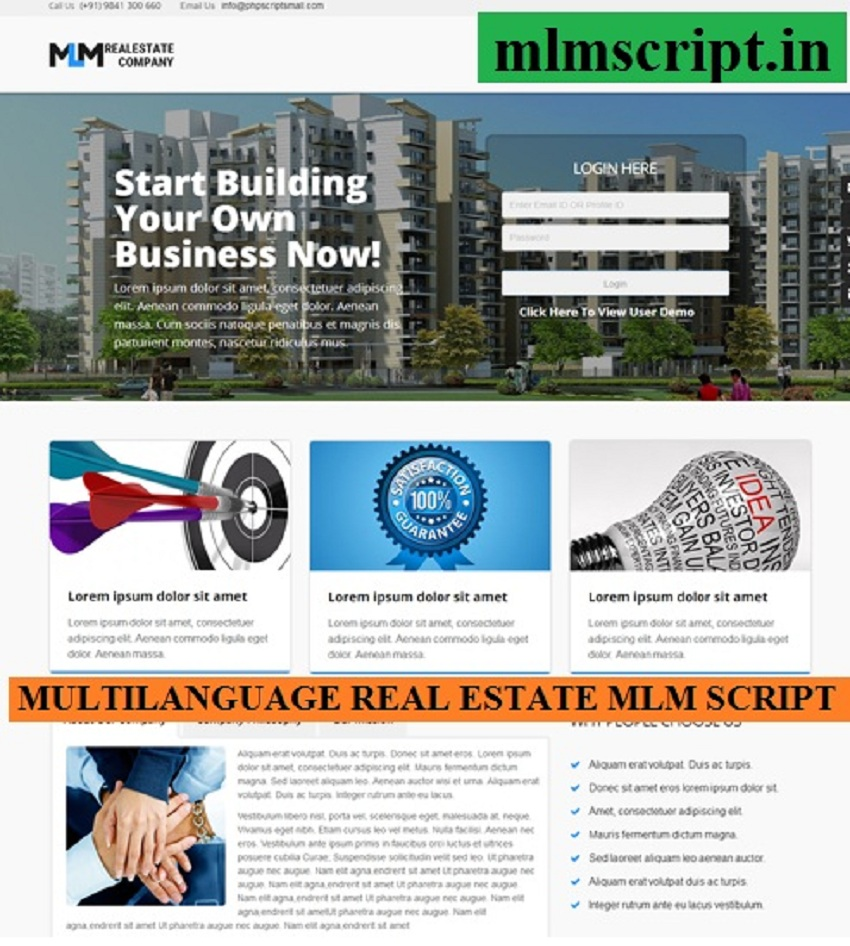 http://www.mlmscript.in/real-estate-mlm-script.html website snapshot