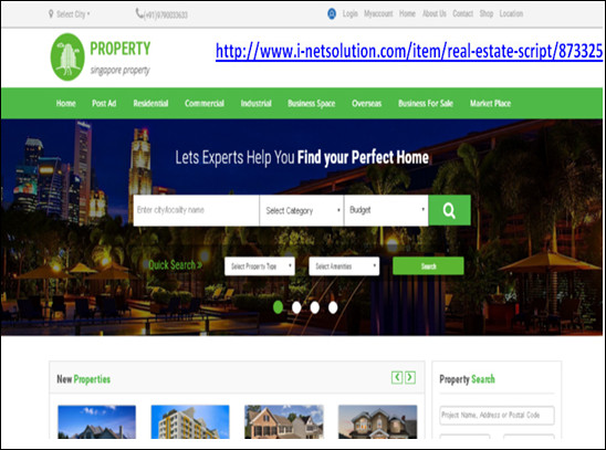 http://www.i-netsolution.com/item/real-estate-script/873325 website snapshot