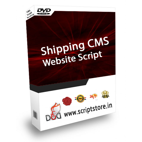 http://scriptstore.in/product/shipping-cms-website-script/ website snapshot