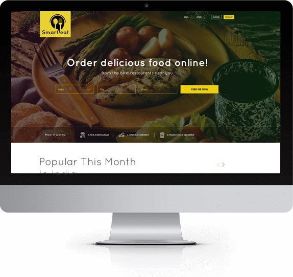 https://appkodes.com/just-eat-clone/ website snapshot