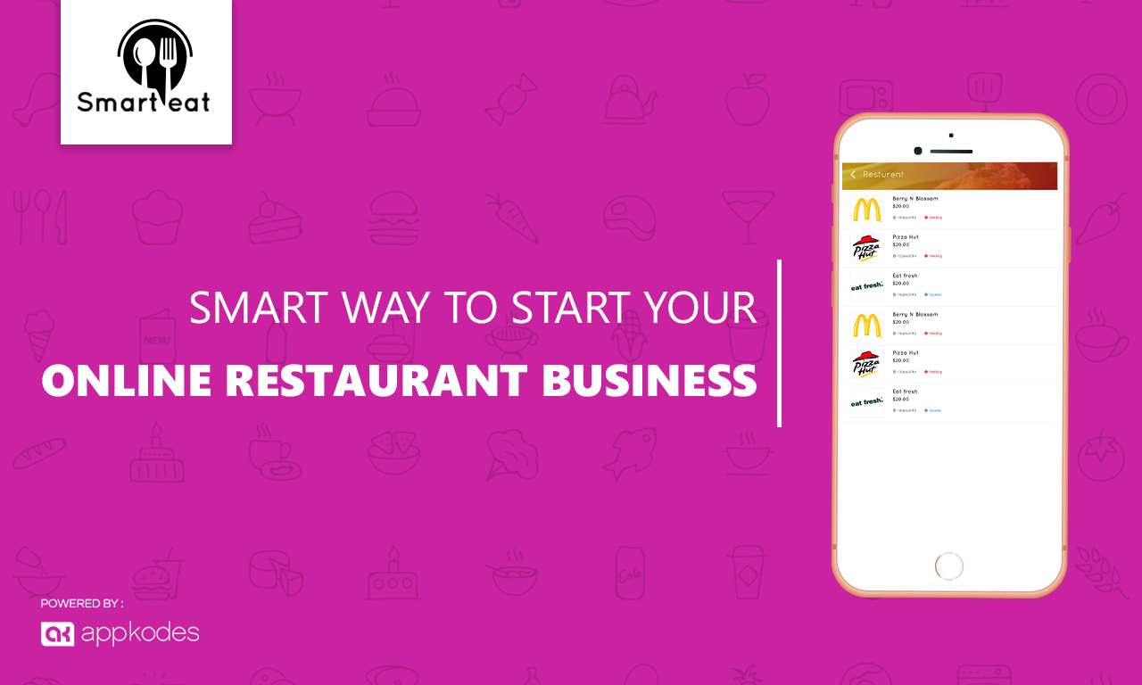 https://appkodes.com/smarteat-restaurant-app/ website snapshot