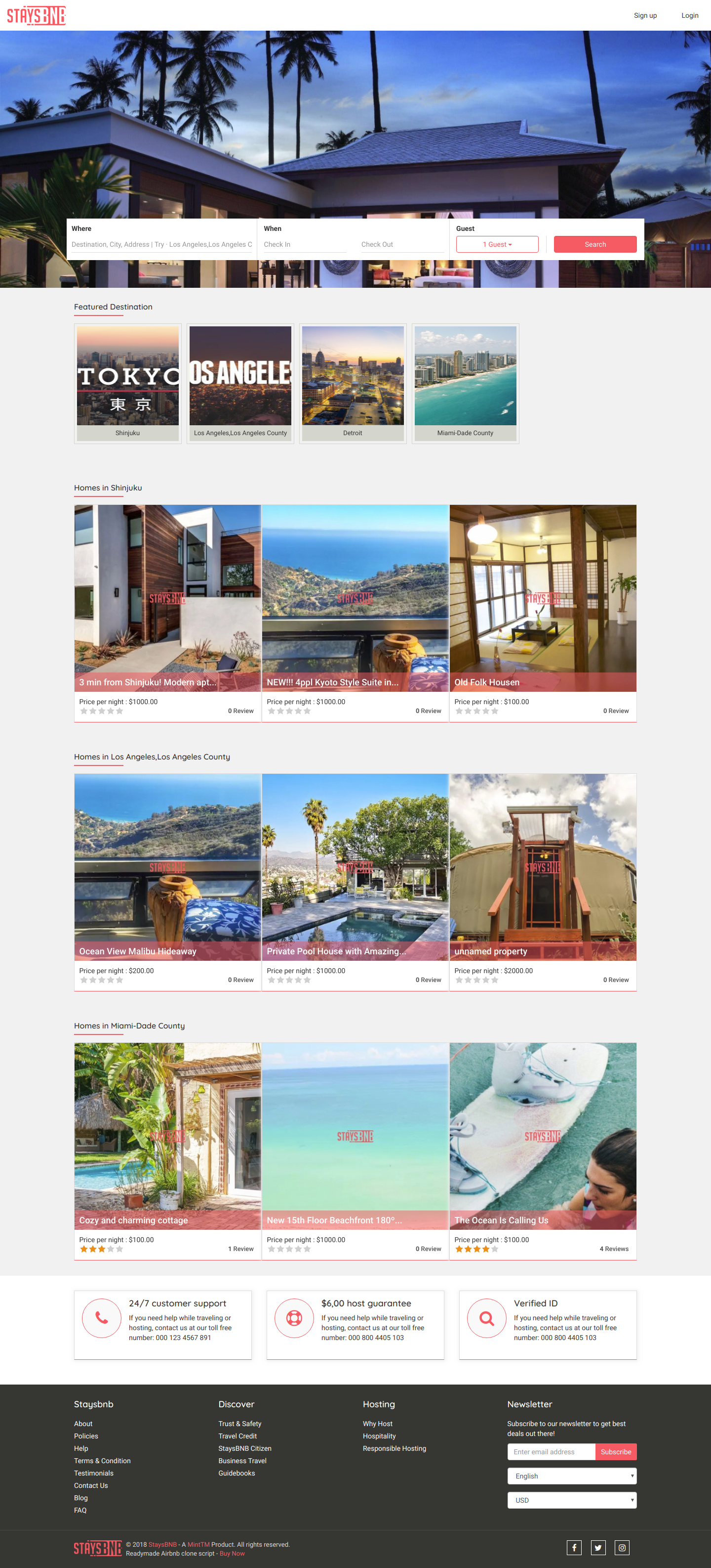 https://www.minttm.com/vacation-rental-script website snapshot