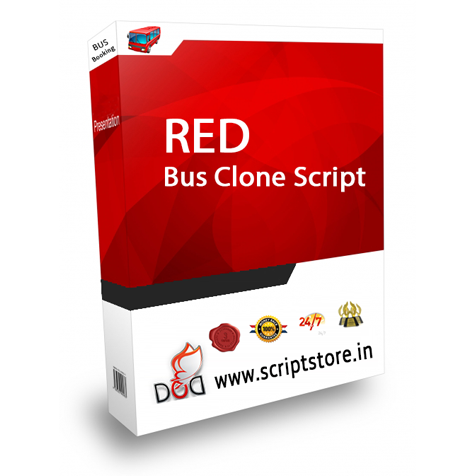 http://scriptstore.in/product/redbus-clone/ website snapshot