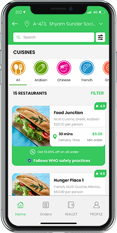 https://www.esiteworld.com/uber-for-food-delivery-ubereats-clone/ website snapshot